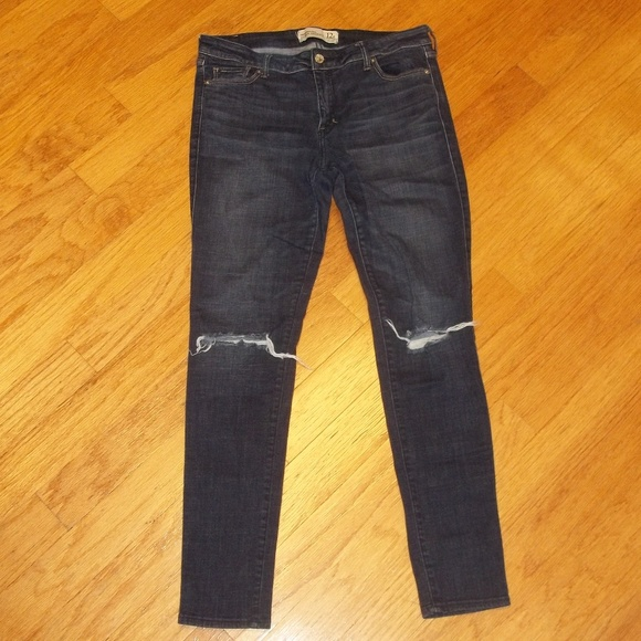 500c5ee05 Abercrombie & Fitch Denim - Abercrombie & Fitch super skinny women's 12R  jeans